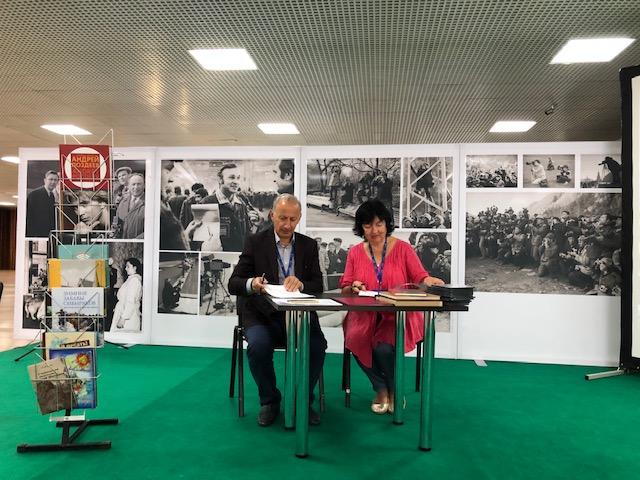 Союз журналистов Абхазии намерен развивать творческие связи с профессиональными Союзами различных стран мира