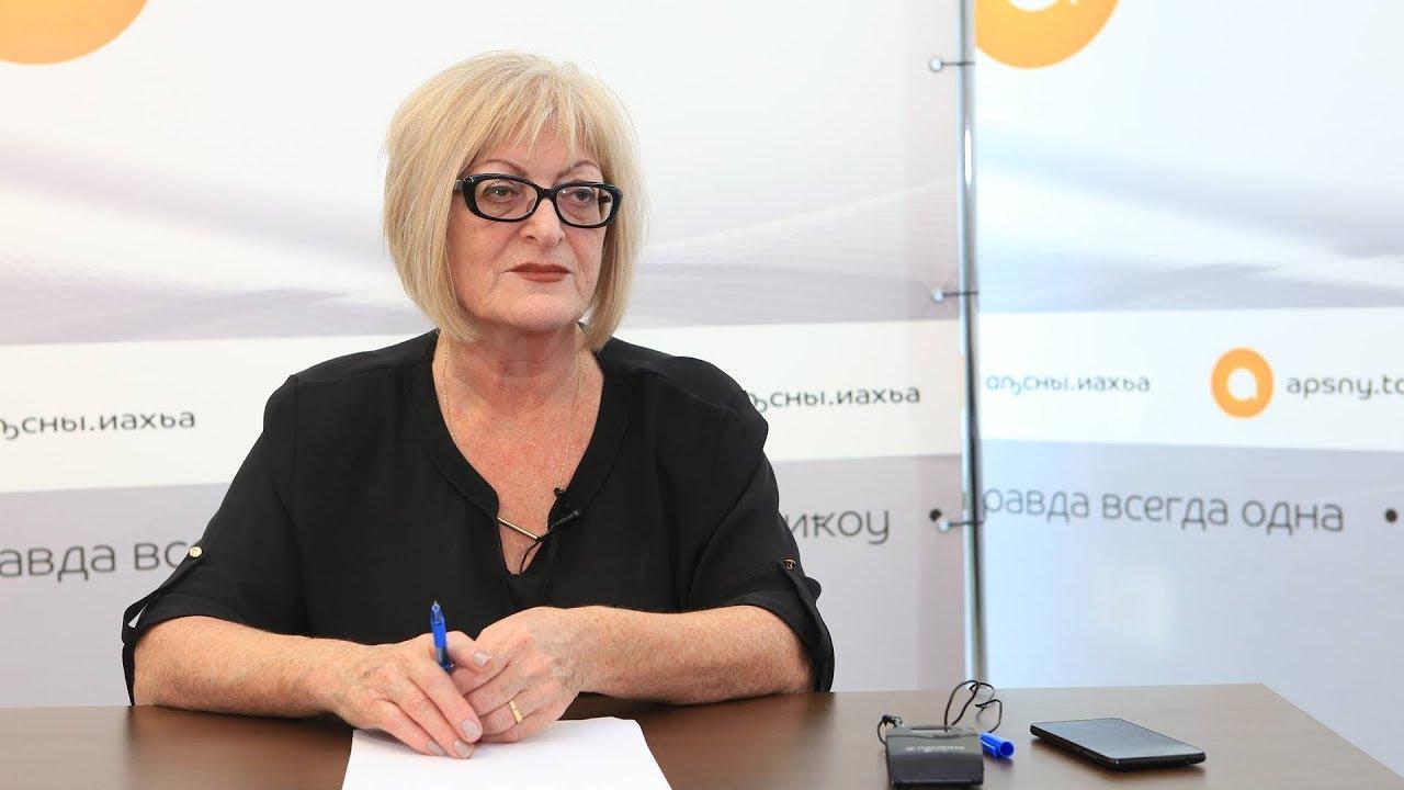Союз журналистов Абхазии поздравил Марину Гумба с юбилеем