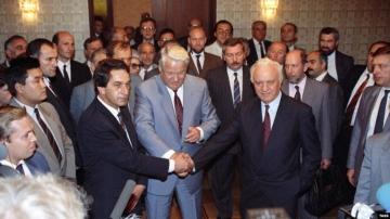 Председатель  Союза журналистов Абхазии Руслана Хашиг о Московской встрече 3 сентября 1992 года по урегулированию грузино-абхазского конфликта